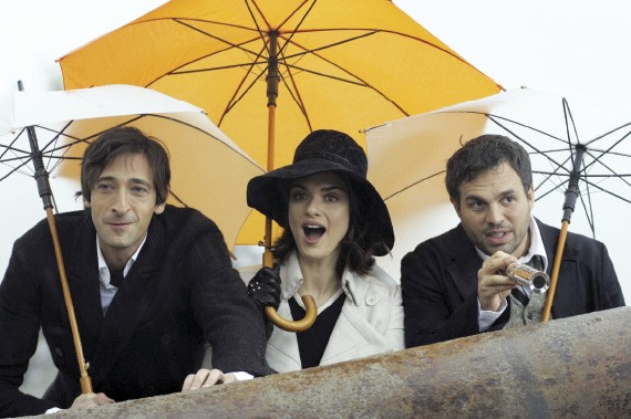 Brody, Weisz, and Ruffalo in The Brothers Bloom