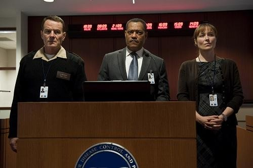 Bryan Cranston, Laurence Fishburne, and Jennifer Ehle