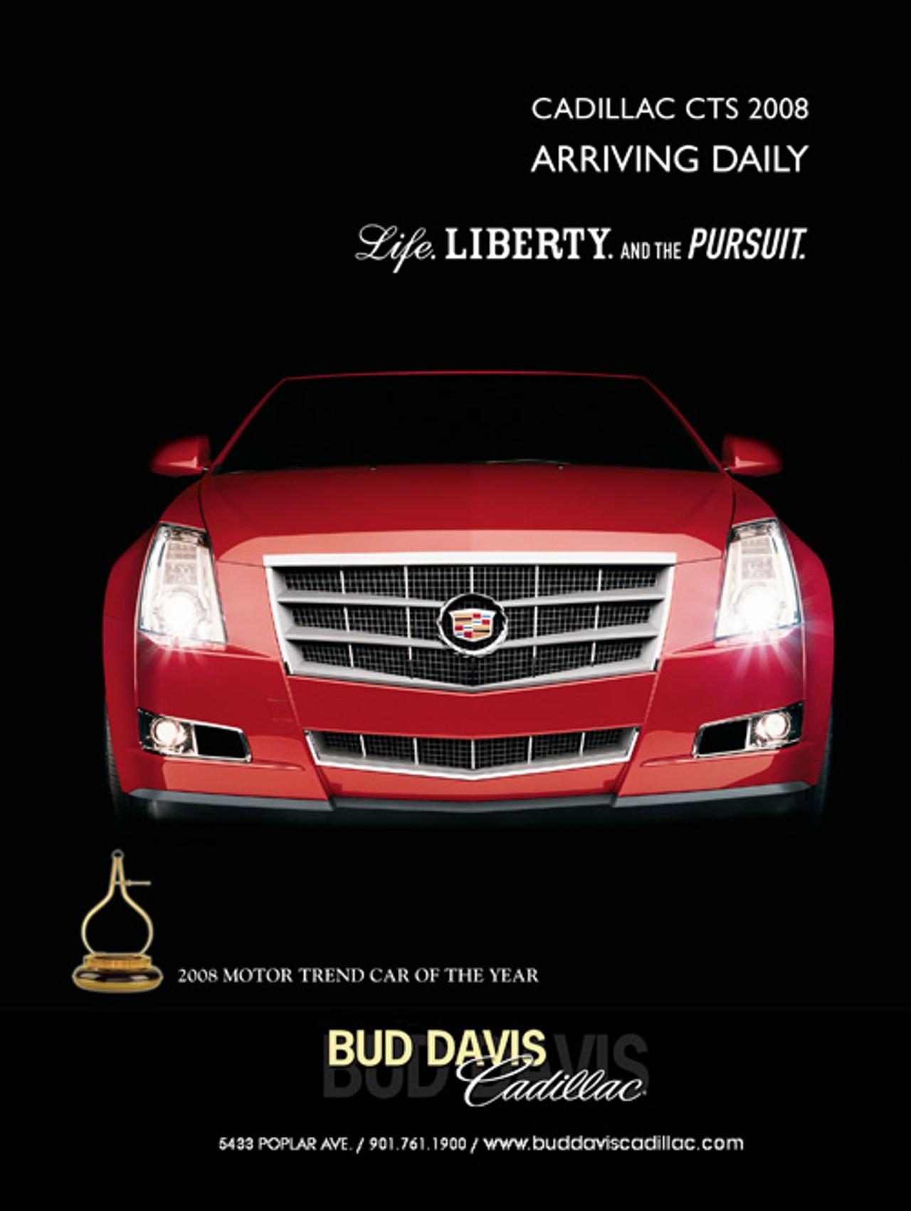 bud davis cadillac east memphis automotive services. Black Bedroom Furniture Sets. Home Design Ideas