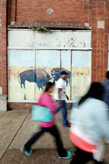 """Buffalo Mural"" - JUSTIN FOX BURKS"