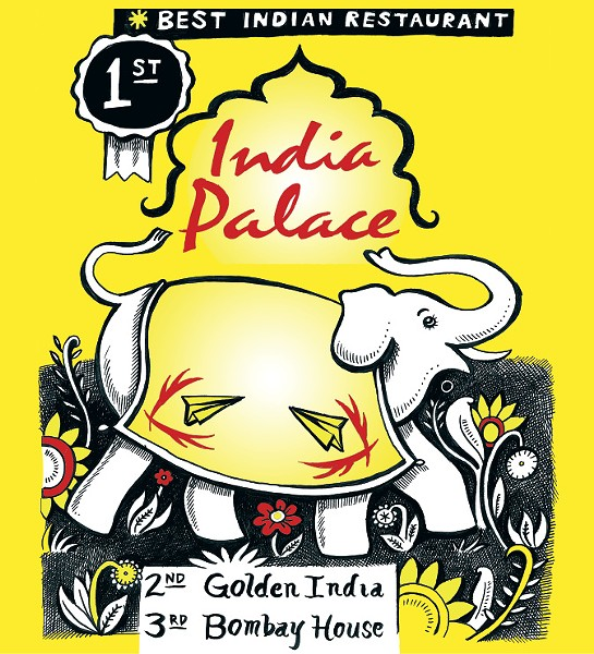 Buttery tikka masala, tender tandoori, spicy vegetable dishes, and all other manner of Indian specialties are served at Midtown institution India Palace in its airy, comfortable Poplar Avenue location. - ALEX HARRISON