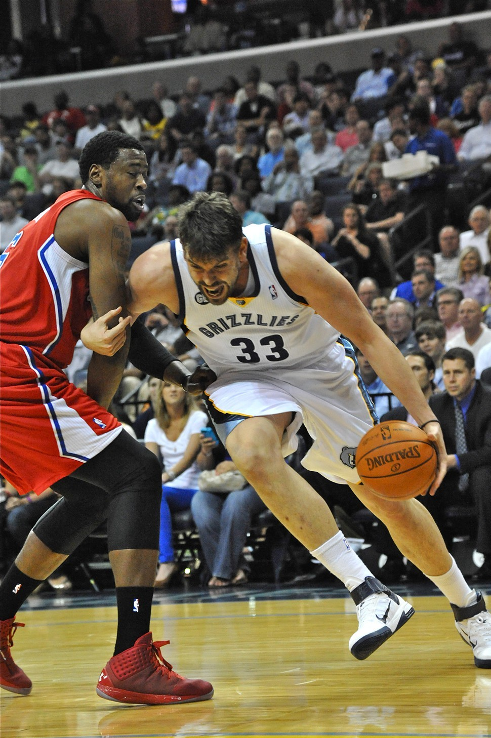 Can Marc Gasol and the Grizzlies go hard in the paint against the Clippers big frontline?