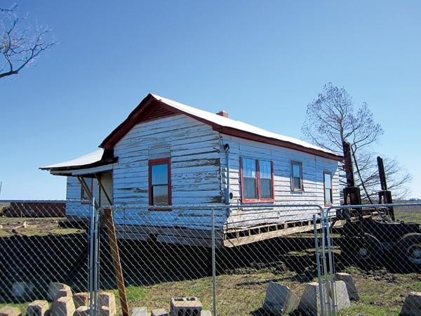 Cash's childhood home - GREG NERI