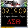 Cater to You Event Saturday