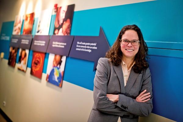 Catherine Joyce, UCI's director of data management - JUSTIN FOX BURKS