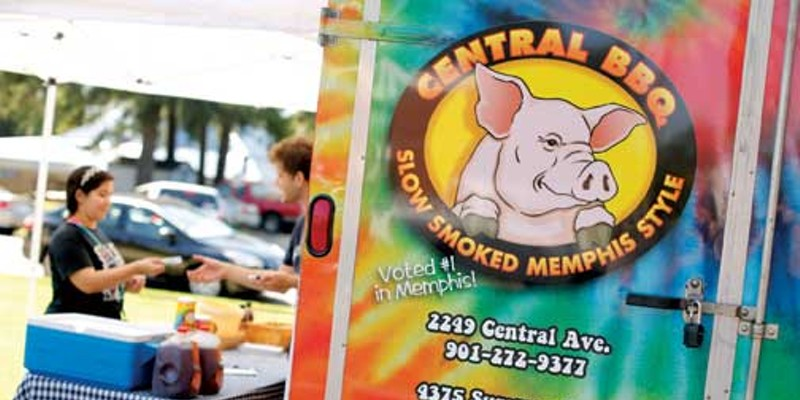 "Best of Memphis Central BBQ 1st Place ""Best Food Truck"" Justin Fox Burks"