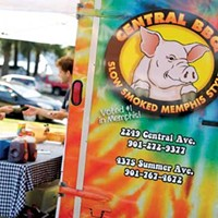 "Best of Memphis Central BBQ 1st Place ""Best Food Truck"""