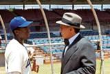 Chadwick Boseman and Harrison Ford