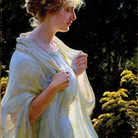 Charles Courtney Curran, The Golden Profile