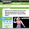 Cheap Tickets: A Groupon for Theatre Memphis