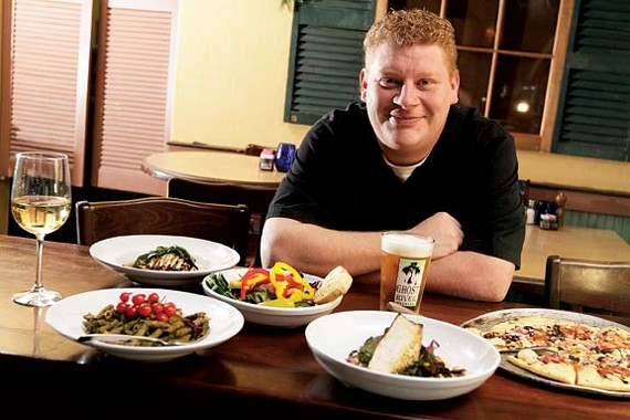 Chef Jonathan Steenerson welcomes vegans and the gluten-free to Ciao Bella.