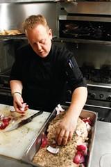"""JUSTIN FOX BURKS - Chef Michael """"Rizzo"""" Patrick of Rizzo's Diner"""