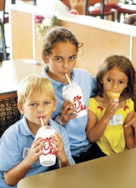 """Chick-Fil-A, 1st place: """"Best Kid-Friendly Restaurant"""" - JUSTIN FOX BURKS"""