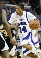 Christopher Douglas-Roberts on the move against Southern Miss