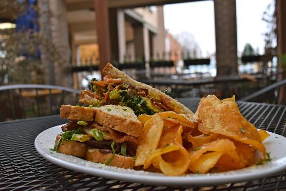 Ciao Bella's BLTA&E Sandwich ($9) - JOHN KLYCE MINERVINI