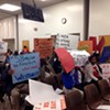 Citizens Protest School Closings
