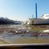 Clean-up at McKellar Lake Saturday