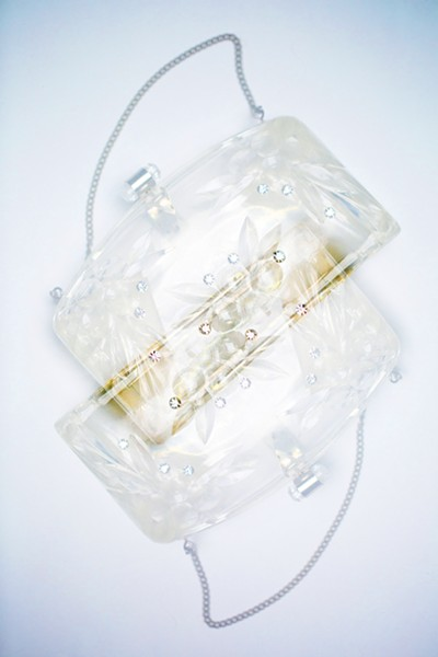 × Clear Purse from Olio: a vintage collection, $58