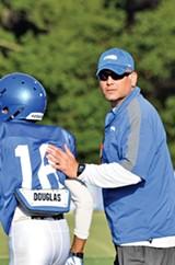 Coach Justin Fuente - LARRY KUZNIEWSKI