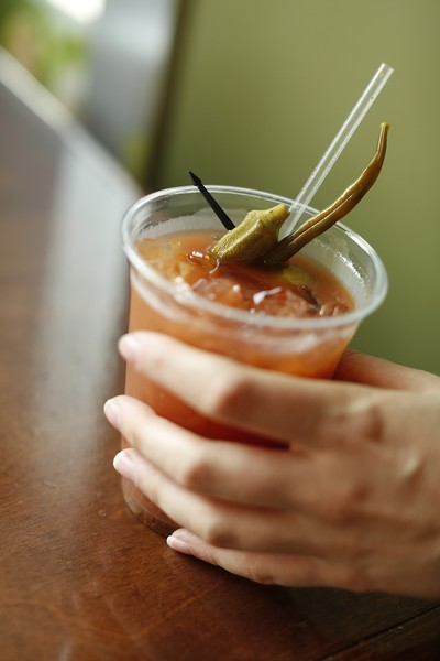 Cochons Bloody Mary Tailgate at Sweet Grass.