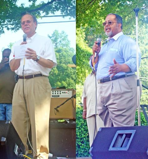 Cohen (left), Lowery - JB