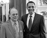 Cohen with Obama