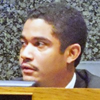 Commission chairman Justin Ford