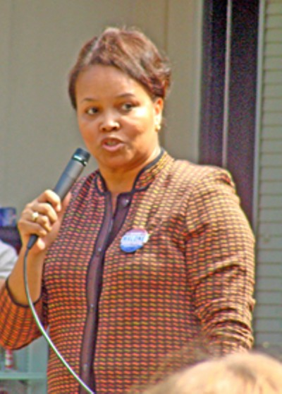 Commissioner and county mayor candiate Deidre Malone - JB