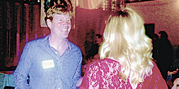 Conservative Republican Brian Kelsey, here cutting a rug at Democrat David Upton's birthday party, could manage to upstage Governor Bill Haslam in the forthcoming