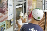 Cool it: Mensi's Dairy Bar, near Collierville's historic town square, triggers all the best childhood memories - JUSTIN FOX BURKS