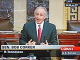 Corker on the Senate floor Thursday