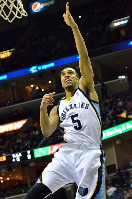 Courtney Lee had his quietest game as a member of the Grizzlies Wednesday night.