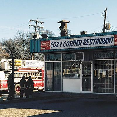 Cozy Corner after the fire - CHRIS DAVIS