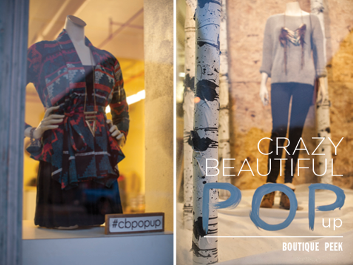 CrazyBeautiful Pop-Up