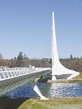 Crowning achievement: Sundial Bridge in Redding, California