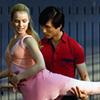 Cultures clash in period dance drama.