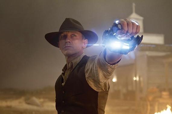 Daniel Craig rustles up space varmints in Cowboys and Aliens.