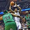 Postgame Notebook: Grizzlies 110, Celtics 106 — Gasol Sits, Bayless Erupts in a Weird, Wild One.