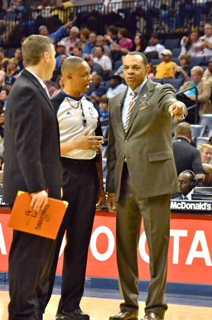 Dave Joerger [right] may be next in line as Lionel Hollins tenure as Grizzlies head coach ends.