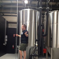 Sneak Peek at Wiseacre Brewing Company Davin Bartosch talks about how beer is made during the Wiseacre tour.
