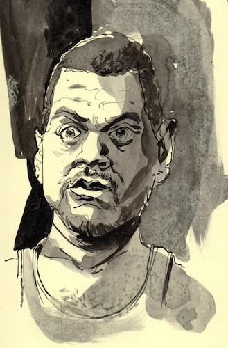 Derrick Dent, self portrait