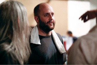 director David Harris - JUSTIN FOX BURKS
