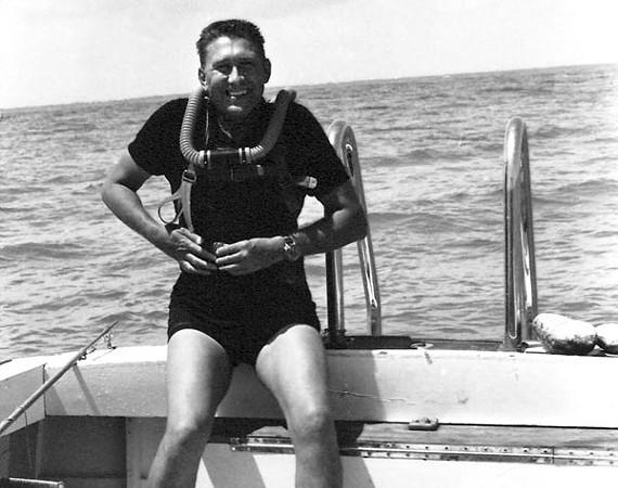 Dive Shop founder Doug McNeese Sr., circa 1963