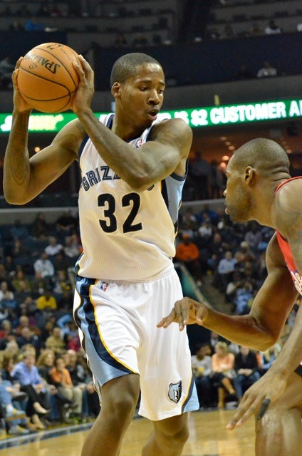 Ed Davis returned to action last night against the Wolves, to the tune of 12 and 7.