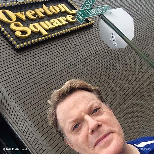 Eddie Izzard in Midtown