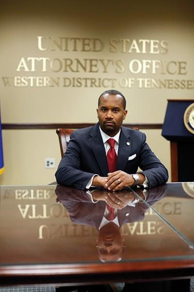Edward Stanton, U.S. Attorney - JUSTIN FOX BURKS