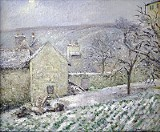 Effect of Snow at L'Hermitage, Pontoise