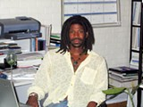 Ekundayo Bandele in his dreadlock days.