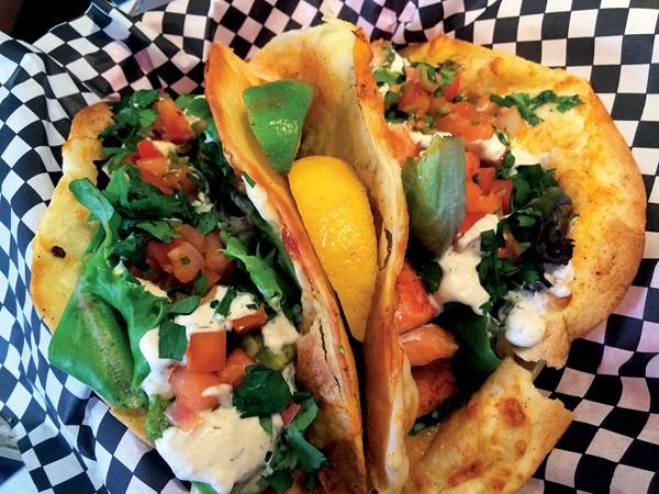 Elwood's fish tacos