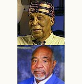 Ernest Withers (top) and Kenneth Whalum Sr.